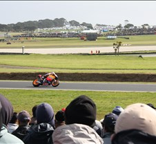MotoGp 2011 MotoGp - Phillip Island  1st - Casey Stoner and wins world title 2nd- Marco Simoncello - 2nd (2nd podium) and is killed 7 days later in Malaysian MotoGp 3rd - Andrea Dovizioso (honda) 3rd last ride for this Repsol team