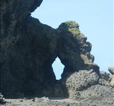 Coastal Rock Formation NZ