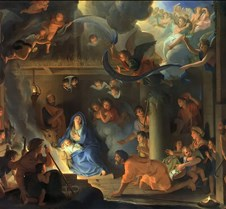 Adoration of the Shepherds - Charles Le
