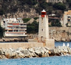 Nice, France, Harbor Lighthouse