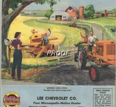 remembr LEE chevy calander COLOR