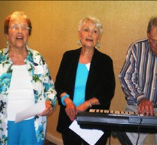 Alma Mater Writers perform