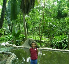 Dorie at Tiger Zoo