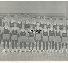 66-67 wrestling team photo