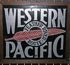Western Pacific Placard