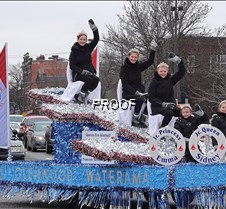 Royalty on float in St. Paul