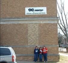 Aaron, Gwyn and Rachel at 90FM