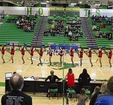 Dance team at state