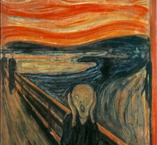 The Scream - Edvard Munch - 1893 - Natio