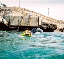 Jess Snorkling in Cuba