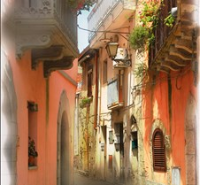 Sicily street scene