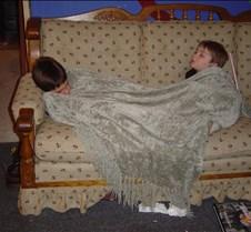 Trivia 2004 Tyler & Danny sleeping