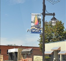 banners downtown