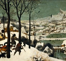 Hunters in the Snow - Pieter Brueghel th