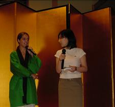 Kate Menetes and Misako Nagashima