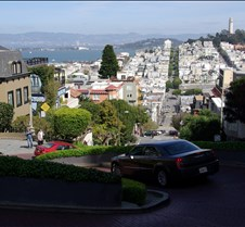 San Francisco from Lombard Street