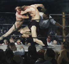Stag at Sharkey's-George Bellows-1909-Cl