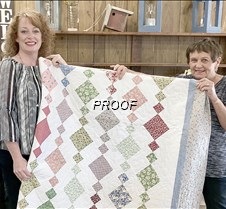 Sr Citizen Craft Shack quilt winner
