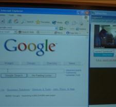 Bill via webcam before last question