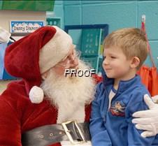 Santa at MAES 2