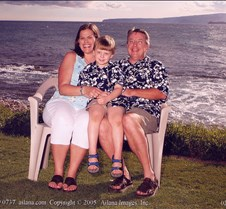 Wailea Marriot Luau - Moore Family