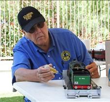 Jim Gabelich Working On His Locomotive