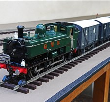 Rob Meadows' Pannier Tank Loco & Cars