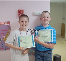 Thomas and Levi
