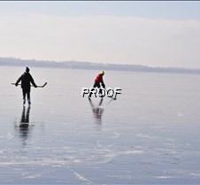 ice skating on Minnewaska