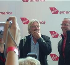 Virgin America Inaugural
