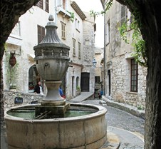 Saint Paul Village, France – Fountain