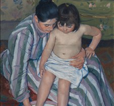 The Child's Bath - Mary Cassatt - 1893 -