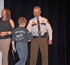 Sheriff Riley handshake