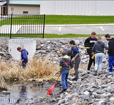 cleaning up waterway