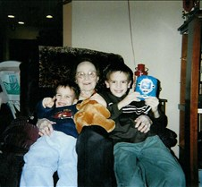 Mom with great grandsons