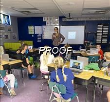 Jodee Lund in classroom
