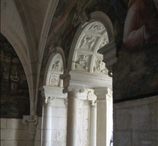 Abbaye le Fontevraud - Arches