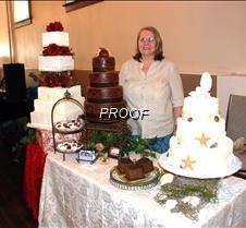 Wedding cakes & Sue