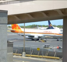 Aloha Funbird at Gate
