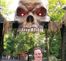 Steve - entrance to fright zone