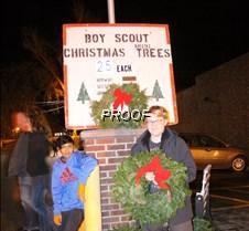 boy scouts xmaas wreaths