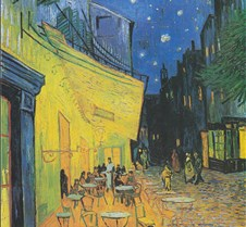 Terrace of the Café-Vincent van Gogh-188