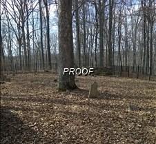 Slave Grave Headstone