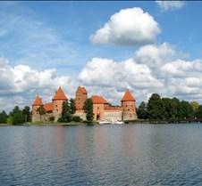 Trakai Castle & Lake, Vilnius Lithuania