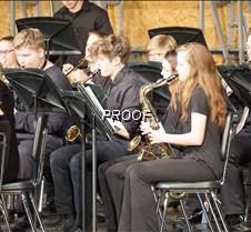 Varsity band, saxophones