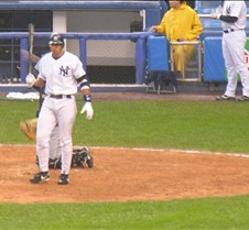 April 30, 2005 YANKEES -vs- TORONTO BLUE JAYS