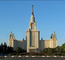 Moscow State University at Sparrow Hills