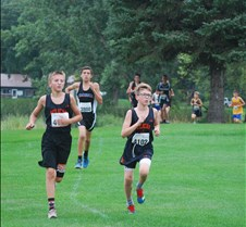 XC Parker Sanchez (L) and Jed Carlson (R