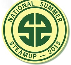 2013 National Summer Steamup Cover