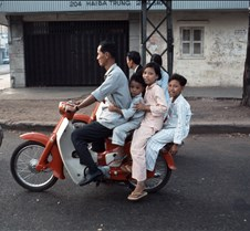 Family Outing In Saigon